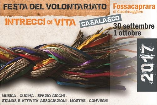 Programma Festa Volontariato Casalasco2017